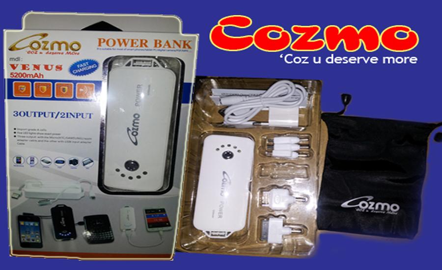 Cozmo, Power Bank Terbaru