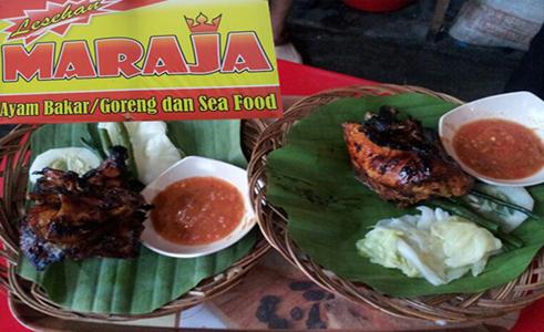 Lesehan Maraja - Ayam Bakar/Goreng dan Sea Food